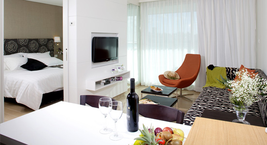 Hôtel West All Suite Boutique à Ashdod