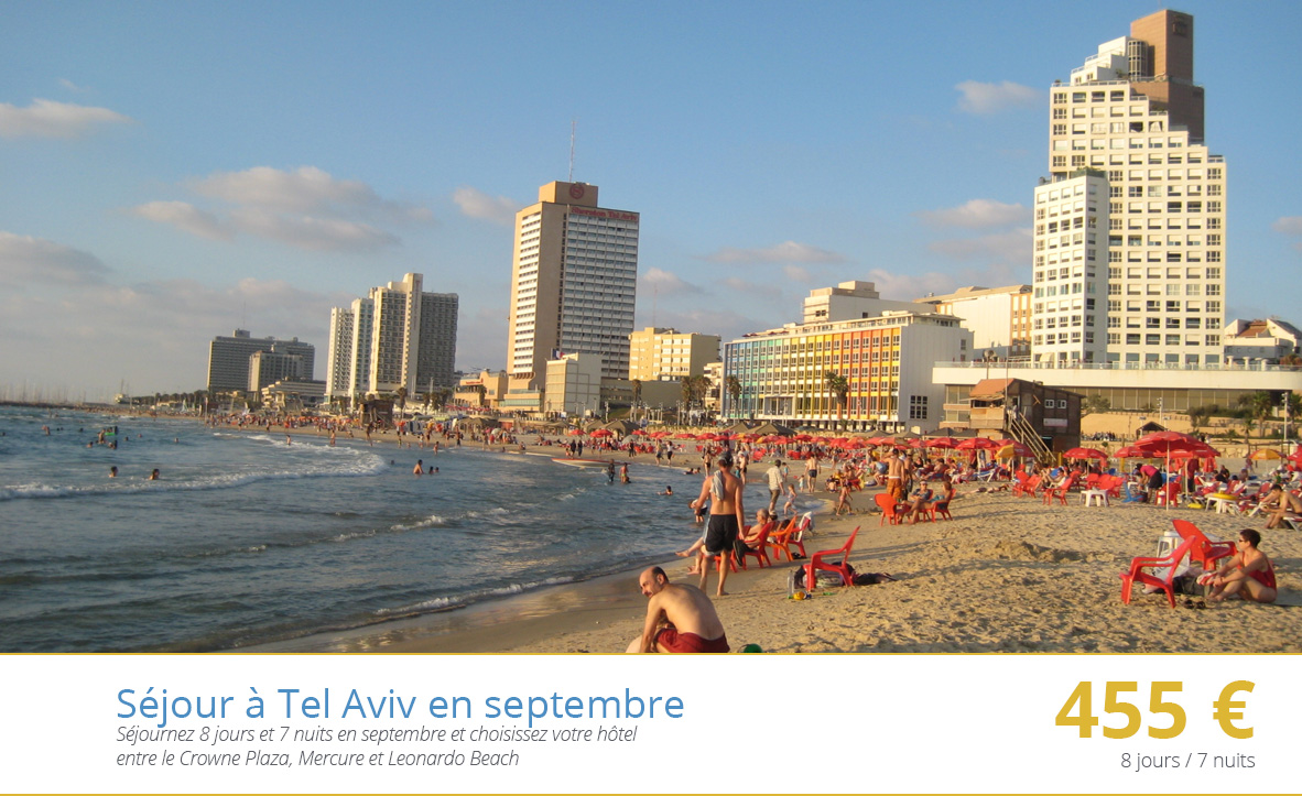 Séjour à Tel Aviv en septembre