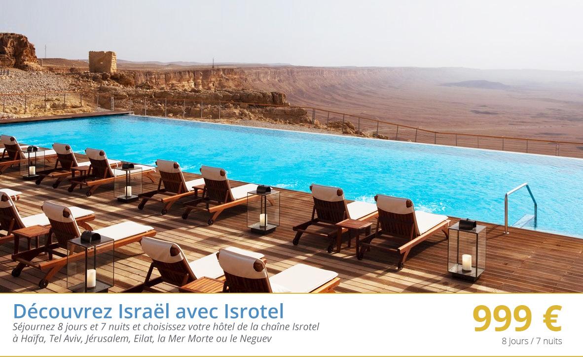 Découvrez Israël avec Isrotel