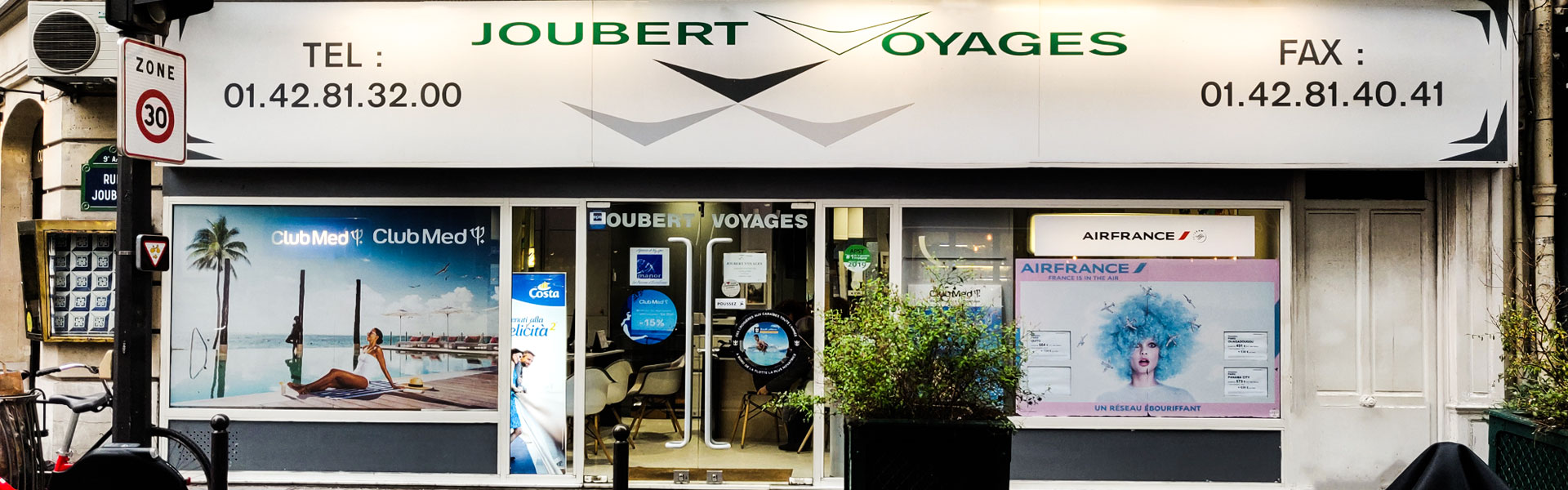 Agence Joubert Voyages Paris