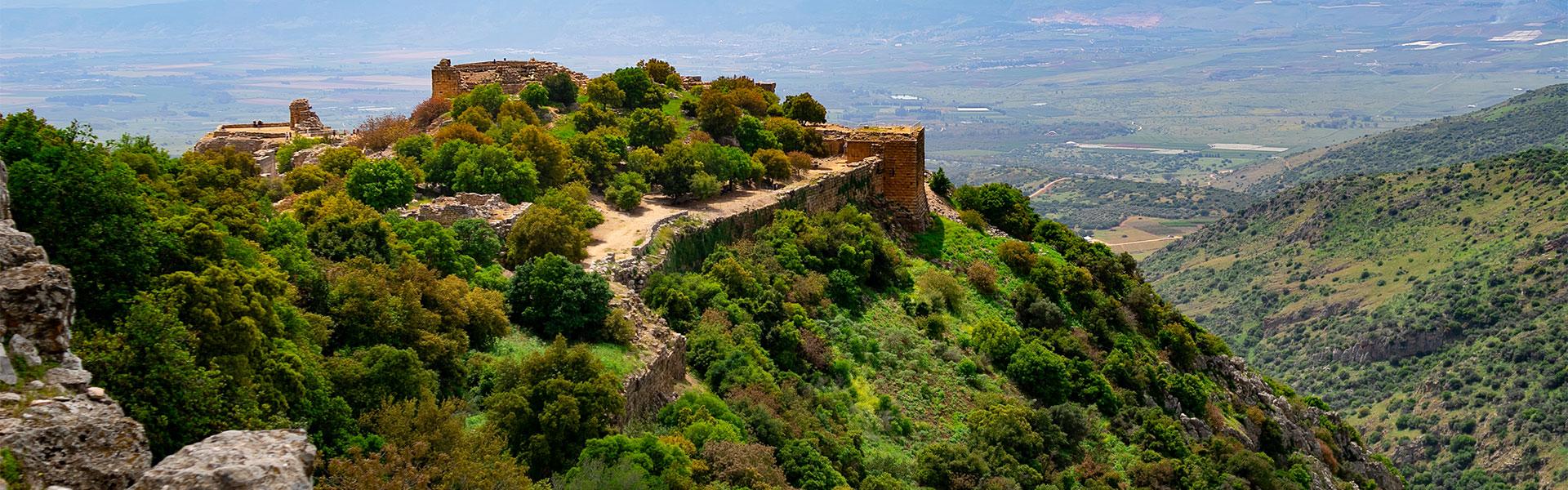 Hauteurs du Golan et Safed