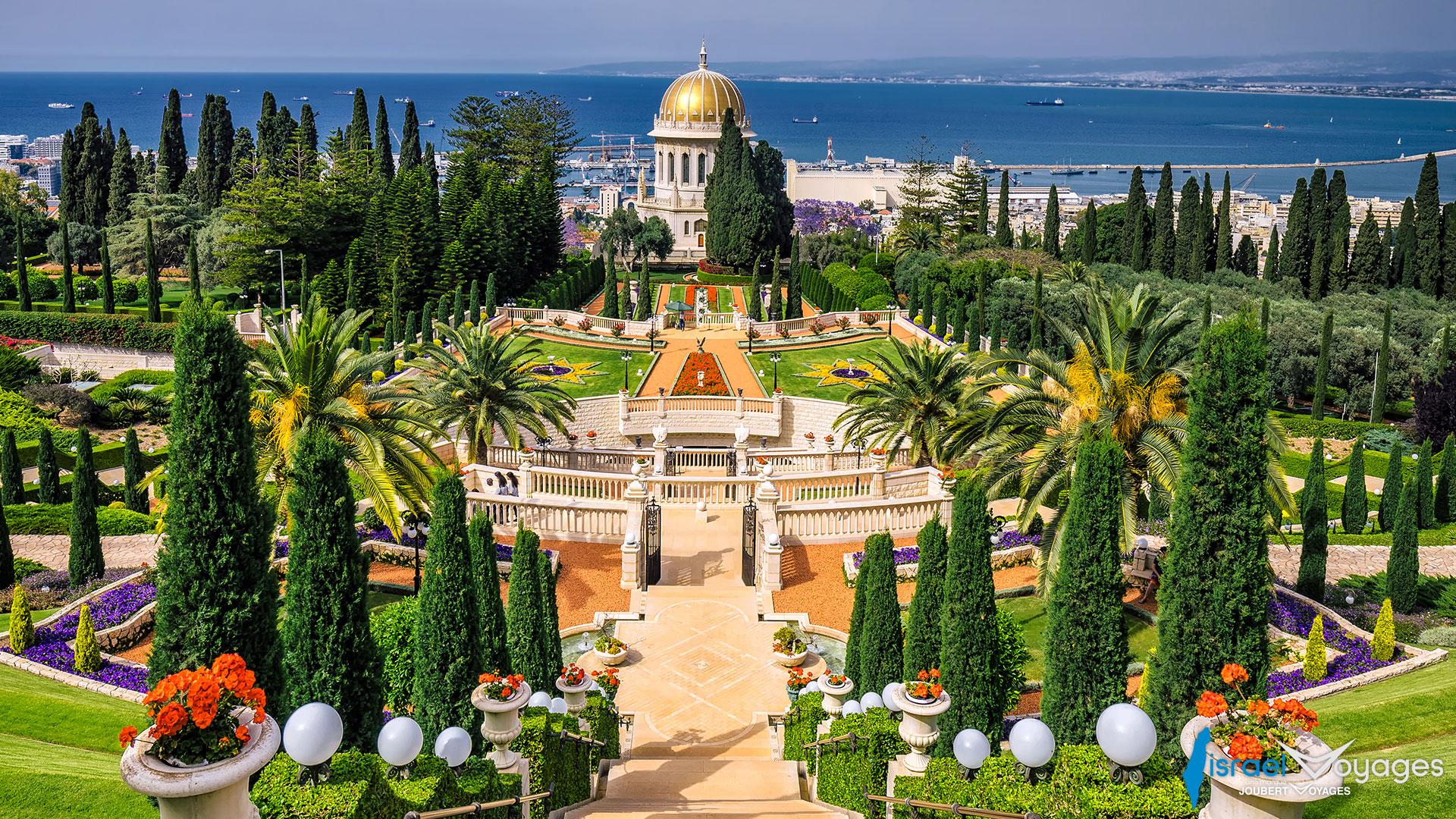 Terrasses baha'ies à Haïfa