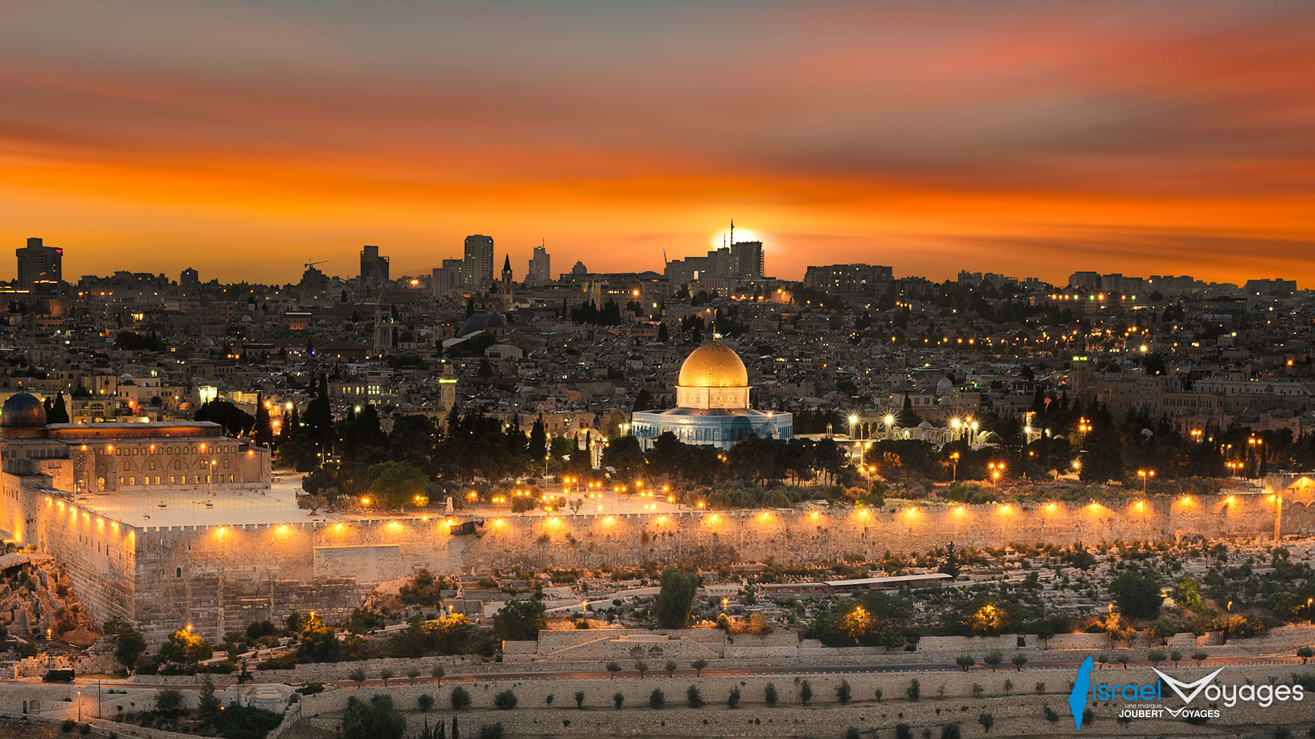 Vue panoramique de Jérusalem