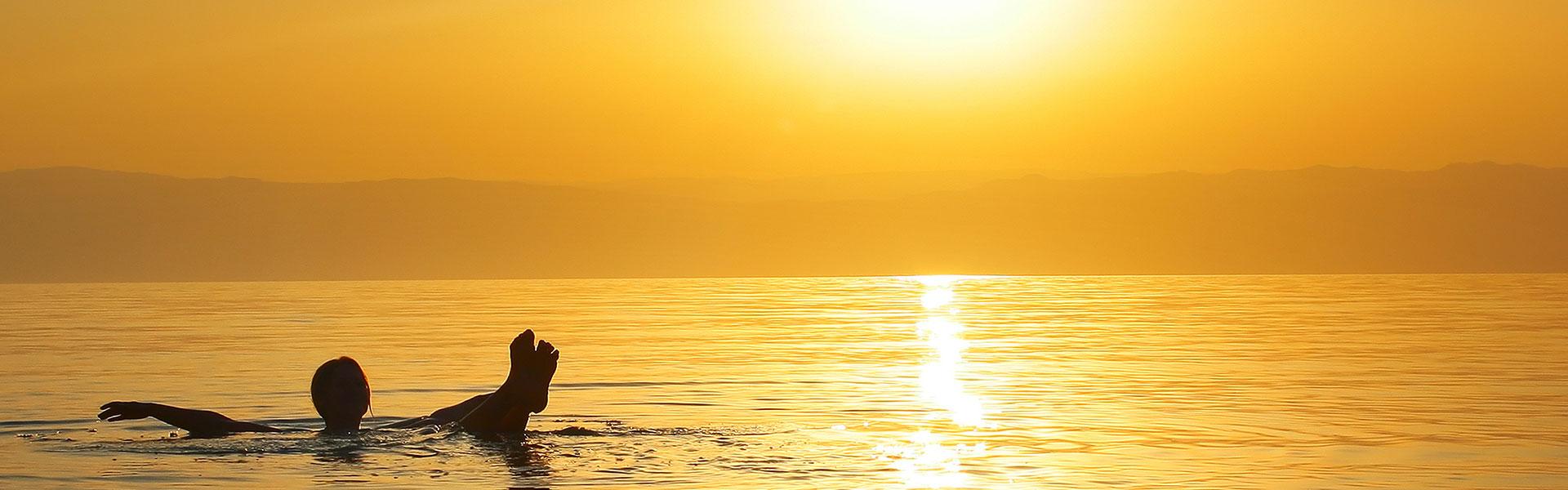 Relaxation à la Mer Morte