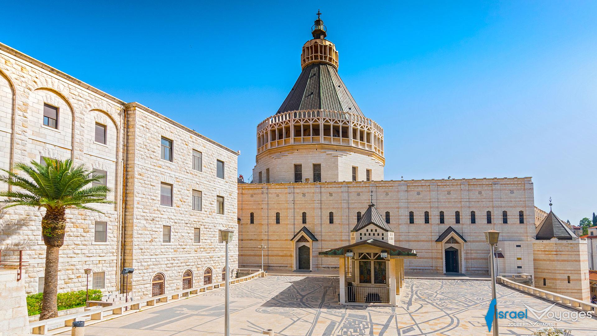 Basilique de l'annonciation à Nazareth
