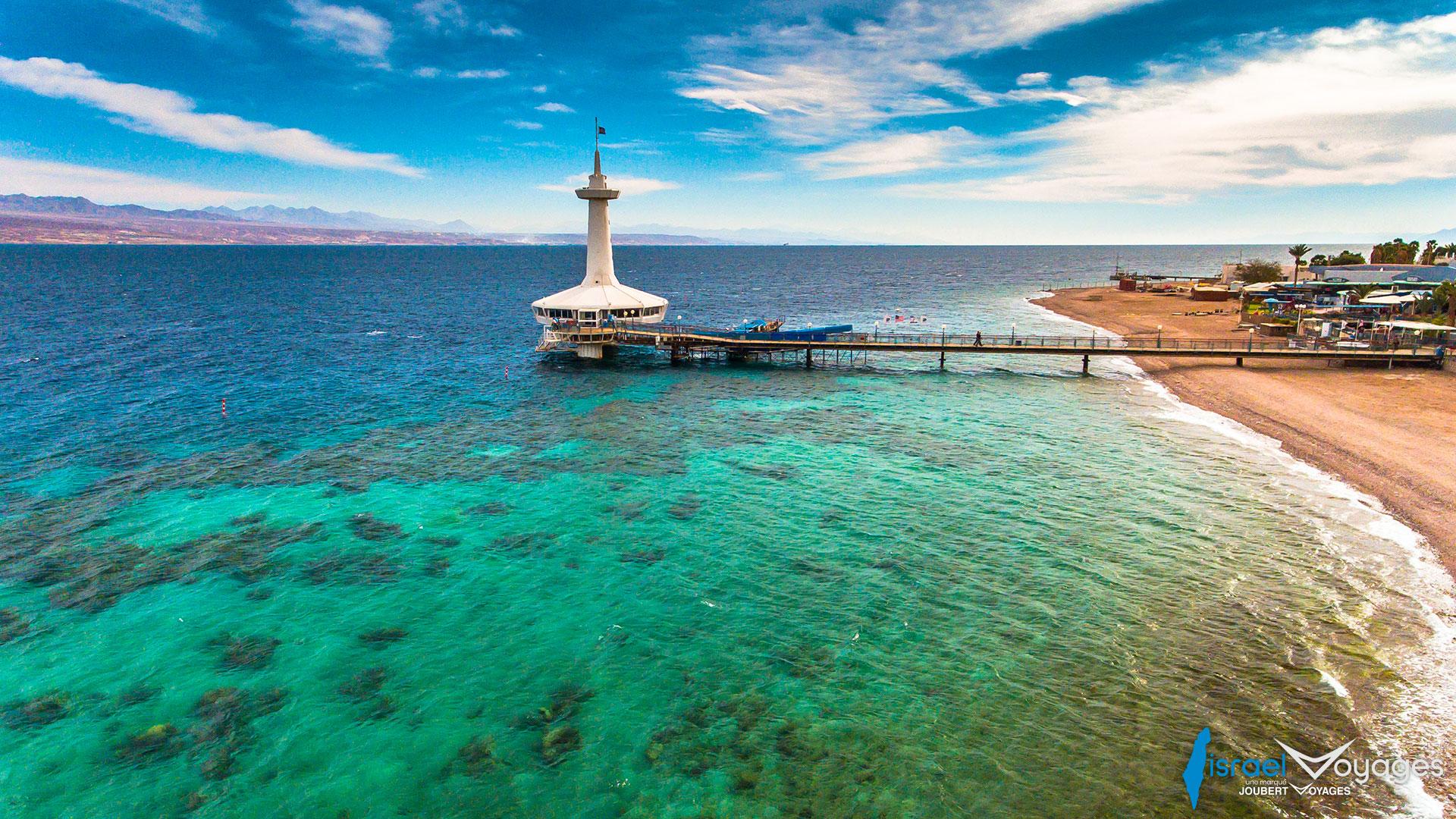 Observatoire sous-marin à Eilat