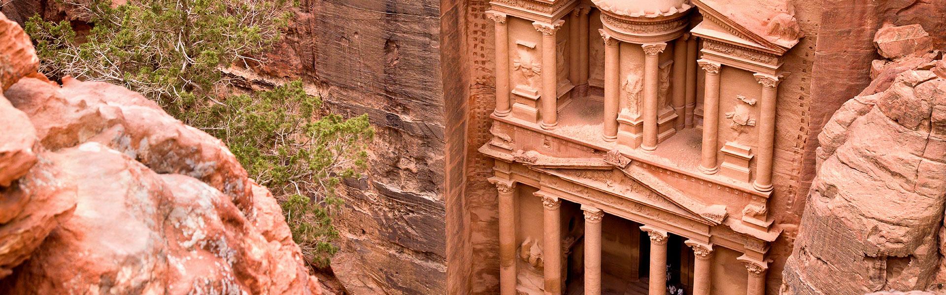Visite de Petra au départ d'Eilat pendant une journée