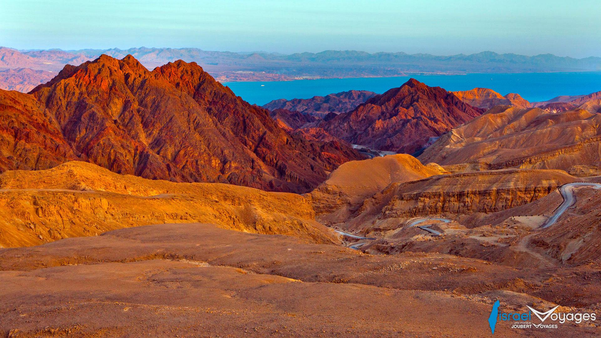 Randonnée sur les Montagnes au Nord d'Eilat