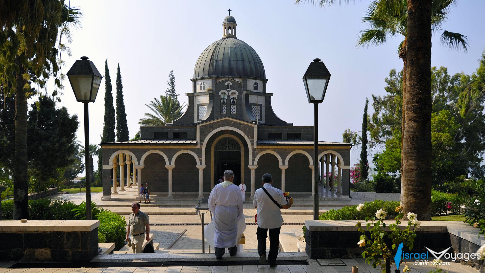 Eglise des Béatitudes à Tabgha