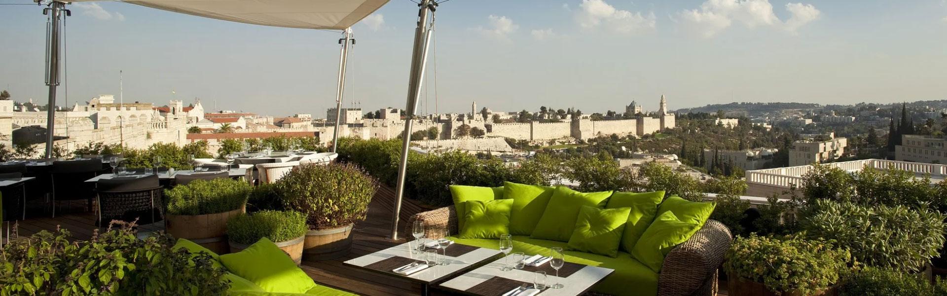 Hôtel-boutique Mamilla à Jérusalem