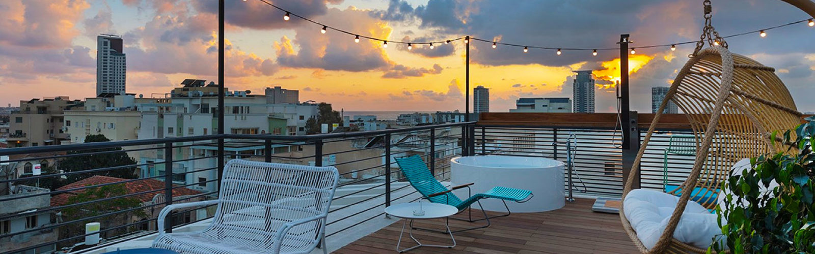 Séjour à l'hôtel-boutique Sam&Blondi à Tel Aviv